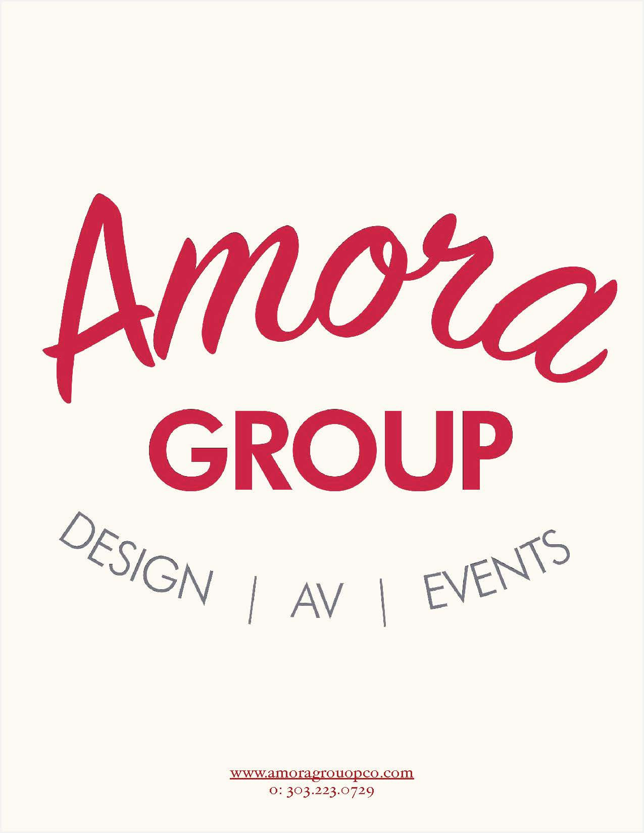 Amora Event Group Inventory and Services 2017 Page 1